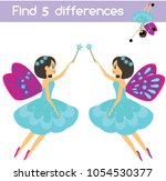 find the differences... | Shutterstock .eps vector #1054530377