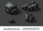 rock stones collection. vector...   Shutterstock .eps vector #1054552073
