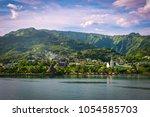 papeete  tahiti  french... | Shutterstock . vector #1054585703