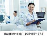 people of science. pretty... | Shutterstock . vector #1054594973