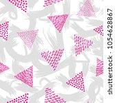 creative seamless pattern.... | Shutterstock .eps vector #1054628867