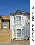 Small photo of LONDON - MARCH 21, 2018. A nineteenth century, Victorian period, town house in the Borough of Hammersmith & Fulham, west London, UK.