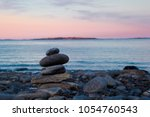 Balanced Stack Of Rocks Near...