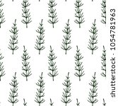 vector seamless pattern with... | Shutterstock .eps vector #1054781963