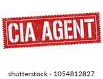 cia agent grunge rubber stamp... | Shutterstock .eps vector #1054812827