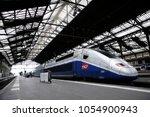 paris france mar. 22 2018.... | Shutterstock . vector #1054900943