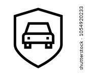 car security vector icon