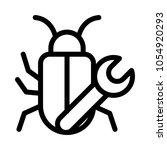 bug fix vector icon