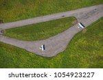 Small photo of Aerodrome, runway, small aircraft.