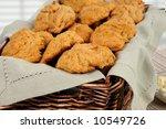 Basket Of Sweet Potato Biscuit...