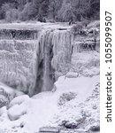 Small photo of American Falls in winter