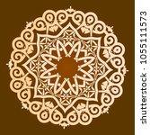 backgorund f round patterns | Shutterstock .eps vector #1055111573