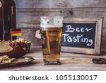 american craft beer | Shutterstock . vector #1055130017