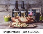american craft beer | Shutterstock . vector #1055130023