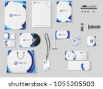 corporate identity.... | Shutterstock .eps vector #1055205503
