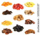 Dried Fruit Collection On A...