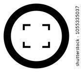 symbol full screen icon black...