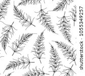 vector seamless pattern with... | Shutterstock .eps vector #1055349257