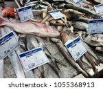 olhao market  algarve  portugal ...   Shutterstock . vector #1055368913