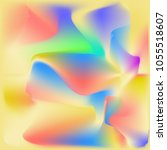 abstract holographic foil...   Shutterstock .eps vector #1055518607