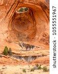 corona arch hike near moab  utah   Shutterstock . vector #1055551967