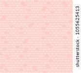 brick wall pink background ...   Shutterstock .eps vector #1055625413