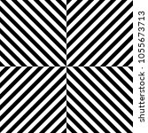seamless pattern with striped... | Shutterstock .eps vector #1055673713