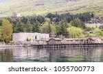 ohrid  macedonia apr. 10  2016  ... | Shutterstock . vector #1055700773