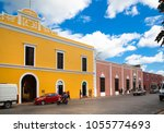 mexico  yucatan  chicken itza   ...   Shutterstock . vector #1055774693