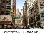 detroit  michigan  usa   march... | Shutterstock . vector #1055854343