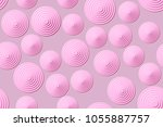 seamless patterns of the... | Shutterstock .eps vector #1055887757