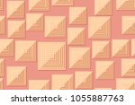 seamless patterns of the... | Shutterstock .eps vector #1055887763