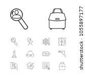 universal icons set with seo ...