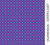 seamless geometric texture of... | Shutterstock .eps vector #1055911187