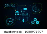 innovative internet of things... | Shutterstock .eps vector #1055979707