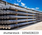 industrial raw materials  heap... | Shutterstock . vector #1056028223
