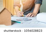 concept architects  architect... | Shutterstock . vector #1056028823