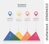 presentation business... | Shutterstock .eps vector #1056046313