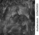black blank watercolor texture... | Shutterstock . vector #105605003
