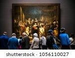 amsterdam  netherlands   april  ... | Shutterstock . vector #1056110027