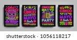 cinco de mayo collection... | Shutterstock .eps vector #1056118217