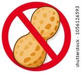 vector symbol promoting peanut... | Shutterstock .eps vector #1056126593