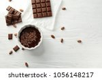 flat lay composition with... | Shutterstock . vector #1056148217