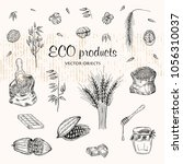 vector illustration. eco... | Shutterstock .eps vector #1056310037