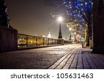 london night walkway | Shutterstock . vector #105631463