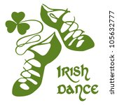 clover,curl,curve,dance,dancer,day,feis,floral,green,hard,ireland,irish,irish dance,lucky,ornament