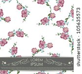 floral card | Shutterstock .eps vector #105635573