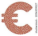 euro collage of tomato...   Shutterstock .eps vector #1056359027