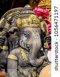 Small photo of Close up Ganesha statue, Ganesh is hindu god god of Success