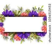 vector illustrator spring... | Shutterstock .eps vector #1056515453